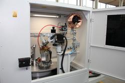 Schweißseite mit 350A Plasmaschweißbrenner und Kaltdrahtzuführung