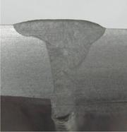 Stichlochweißung 8mm CrNi-Stahl,  2-lagig